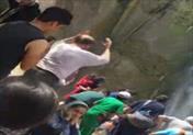 سقوط صخره نورد از آبشار شاهان دشت