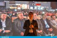 مراسم تجلیل از خبرنگاران به همیت شهرداری در بام شهر ساری- سایت عبارت
