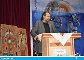 فردوس حاجیان در مراسم یادمان کیارستمی-سایت عبارت