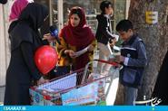 بچه های کتاب به جای بچه های کار  در ساری