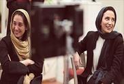 هدیه تهرانی و نگار جواهریان+عبارت