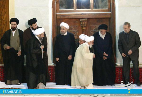 مراسم سالگرد امام ـ سایت عبارت