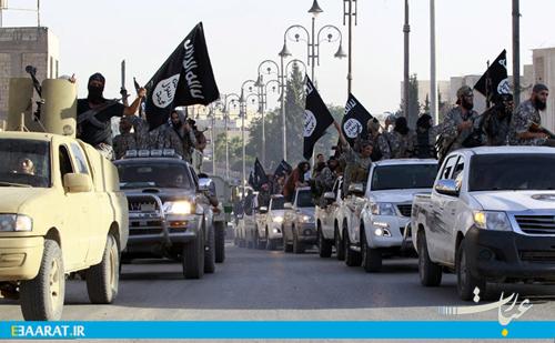 پیکارجویان داعش- سایت عبارت