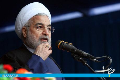 حسن روحانی در کرمانشاه-سایت عبارت