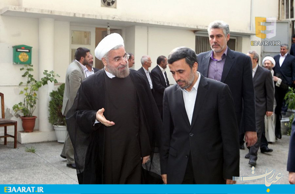 احمدی نژاد روحانی- سایت عبارت