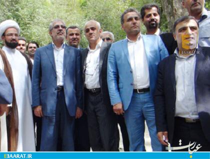 بازدید شاعری و نوبخت از عرصه های طبیعی شرق مازندران-سایت عبارت