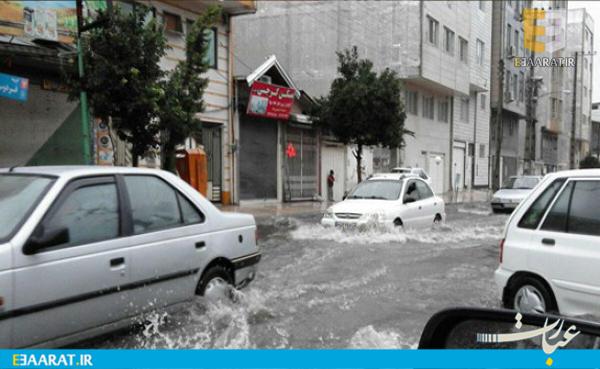 سیل طوفان آب گرفتگی- سایت عبارت
