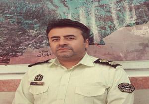 سرهنگ علیرضا ثقفی رئیس پلیس مبارزه با مودمخدر استان مازندران+عبارت
