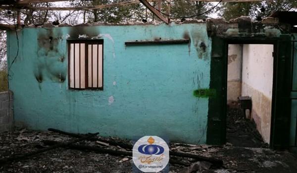 آتش زدن امامزاده در مازندران+عبارت