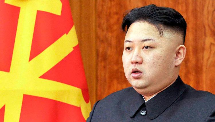 رهبر کره شمالی+عبارت