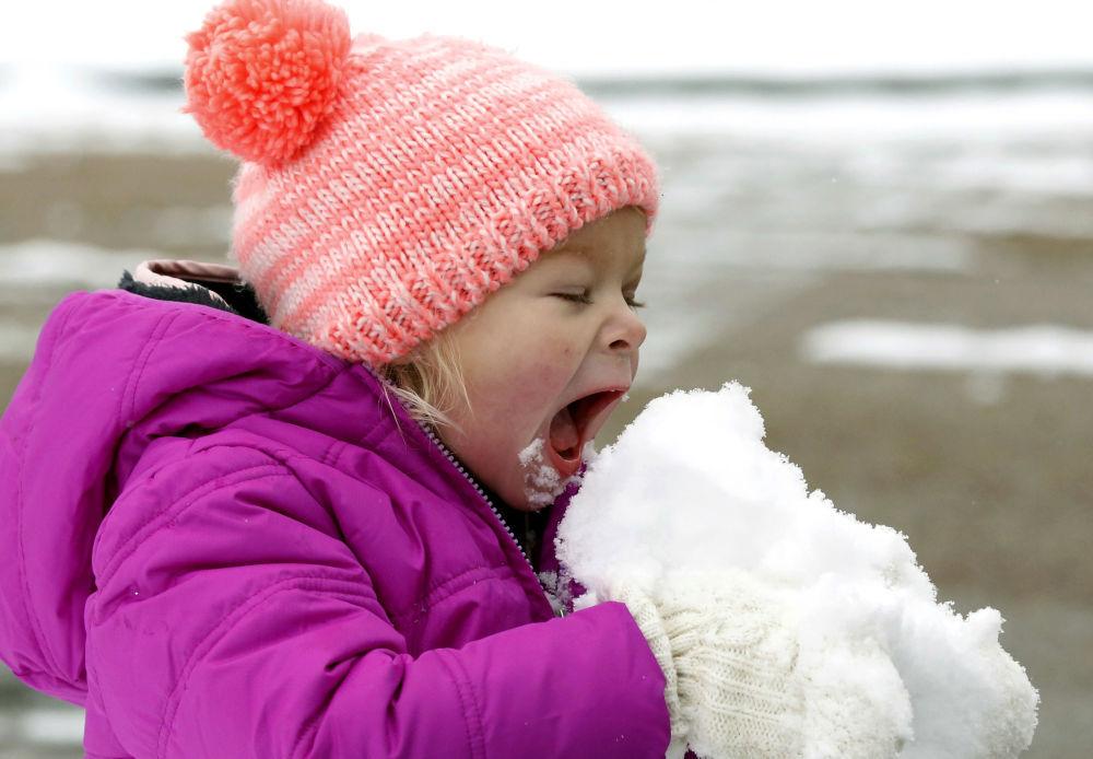 برف خوردن+عبارت