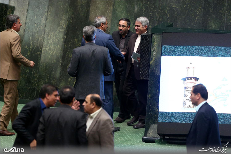نمایندگان مازندران در صحن علنی مجلس+علی نجفی+عبارت