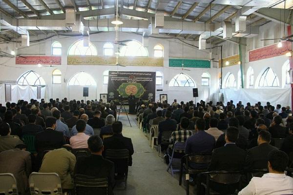 مراسم اربعین حسینی حراست دستگاه های اجرایی مازندران+عبارت