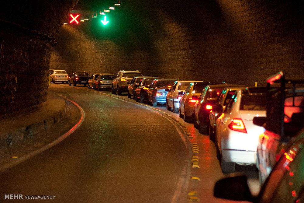 ترافیک جاده چالوس+عبارت