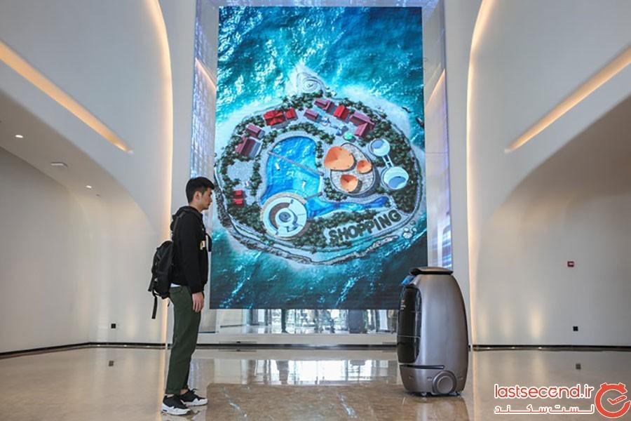 گروه پرستاران پایگاه خبری تحلیلی عبارت:هتل هوش مصنوعی علی بابا در چین