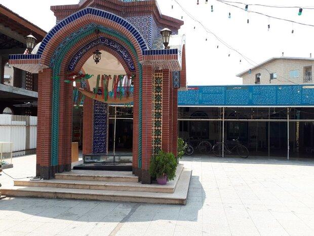 مسجد محدثین+عبارت