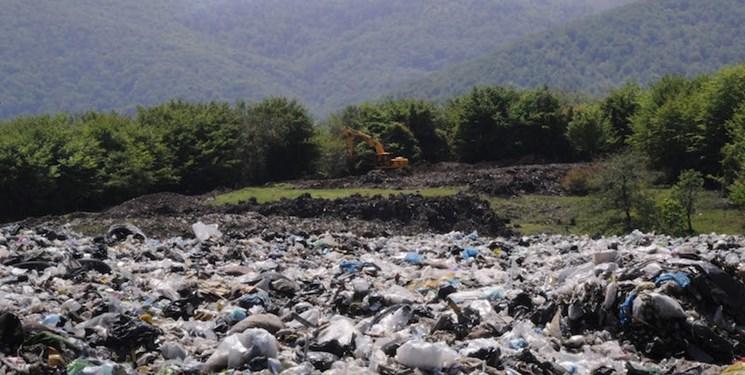 جنگل +زباله+عبارت