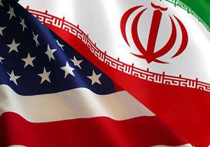 پرچم ایران+آمریکا+عبارت