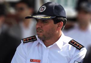 سید حمید هاشمی رئیس سازمان آتش نشانی شهرداری مرکز استان + عبارت