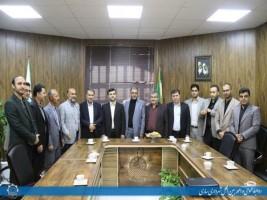 مراسم تکریم و معارفه مدیران جدید شهرداری مرکز استان + عبارت