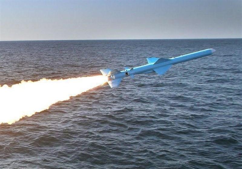 اصابت موشک به کشتی  + عبارت