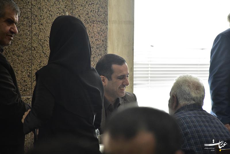ملاقات عمومی عباس رجبی+عبارت