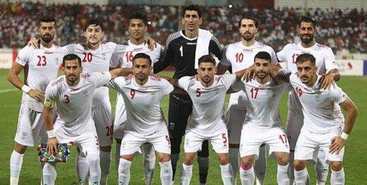 بازیکنان تیم ملی فوتبال ایران + عبارت