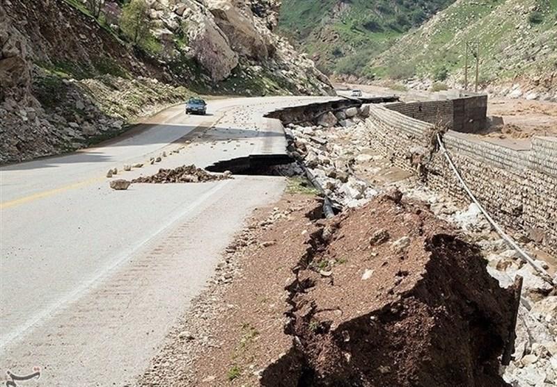 جاده هراز مسدود شد + عبارت