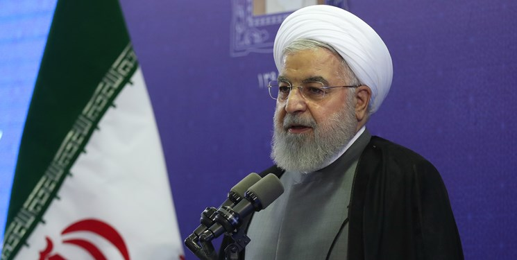 حجت الاسلام حسن روحانی رئیس جمهور + عبارت