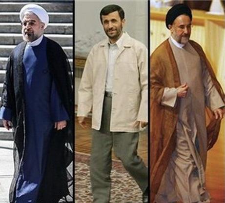 روحانی احمدی نژاد خاتمی + عبارت
