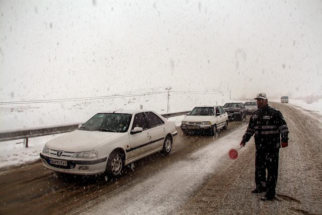 برف جاده + عبارت