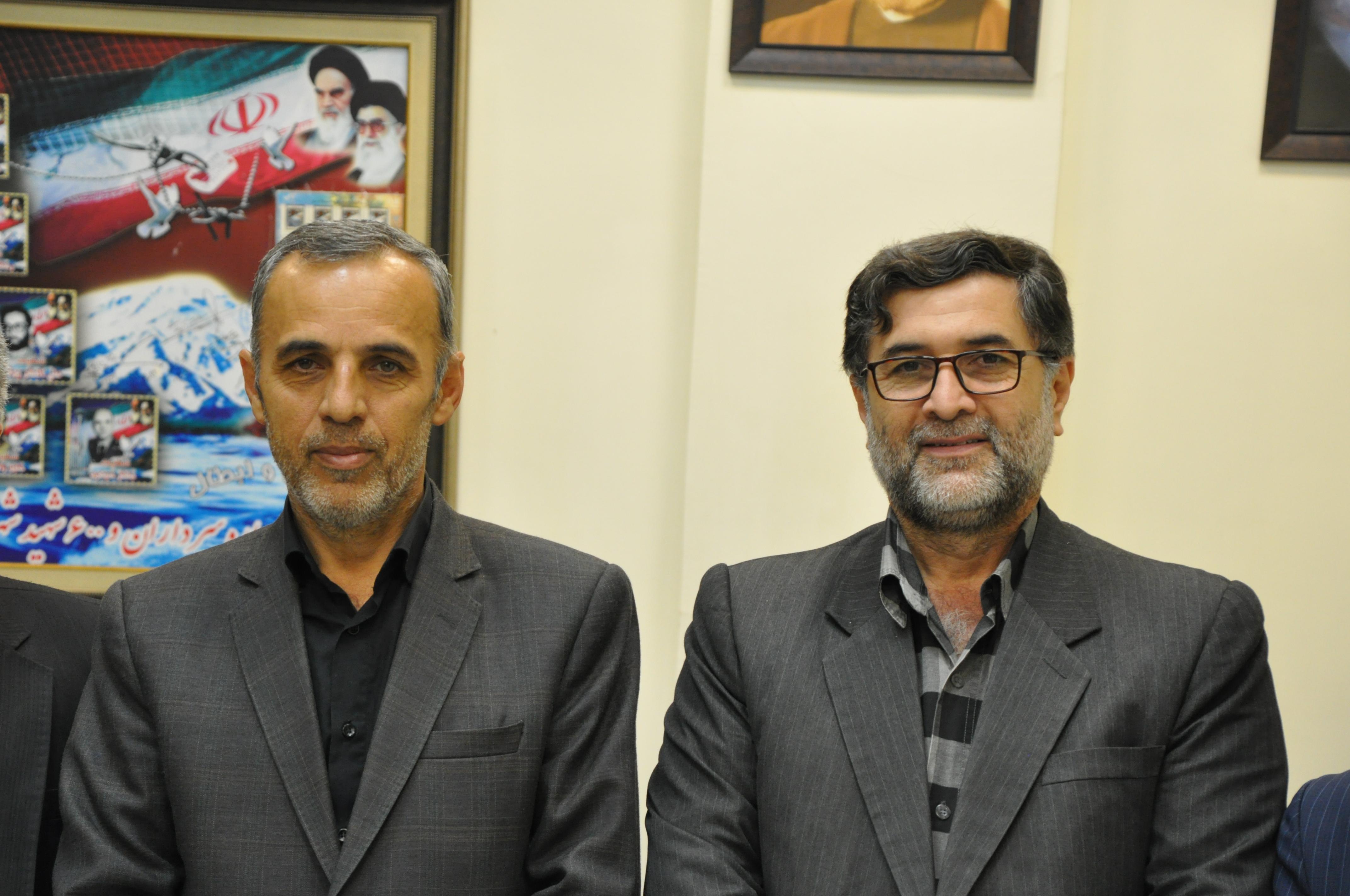 علی شادمان فرماندار شهرستان نور + عبارت