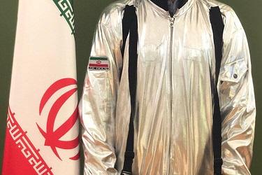 لباس فضانوردی+عبارت