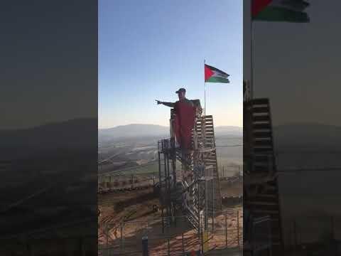 مجسمه سردار سلیمانی+عبارت