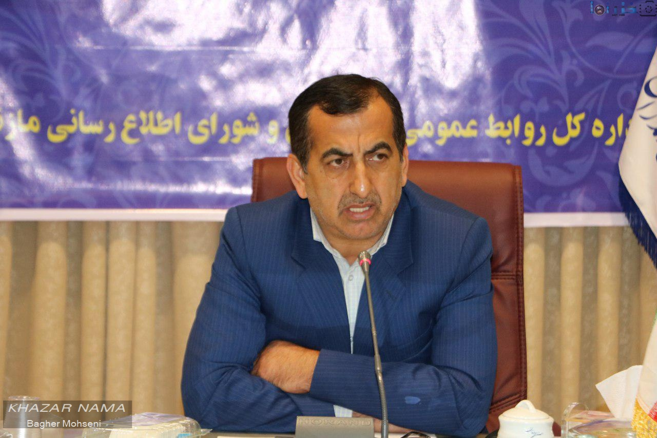 عزیزالله شهیدی فر رییس سازمان جهاد کشاورزی مازندران