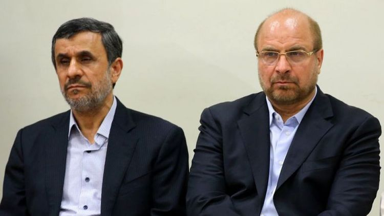 قالیباف + احمدی نژاد + عبارت