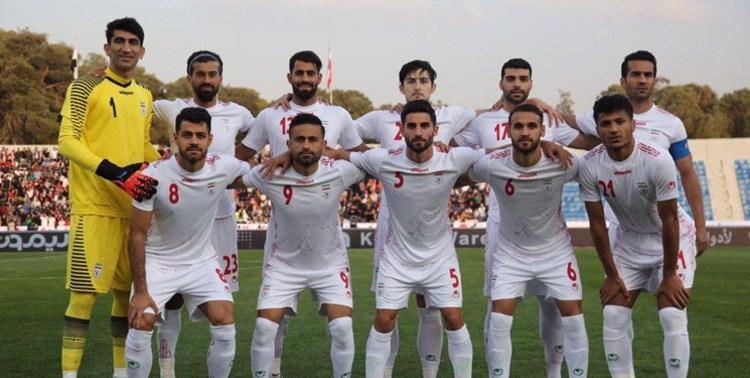 تیم ملی ایران+عبارت