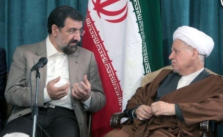 محسن رضایی + هاشمی رفسنجانی + عبارت