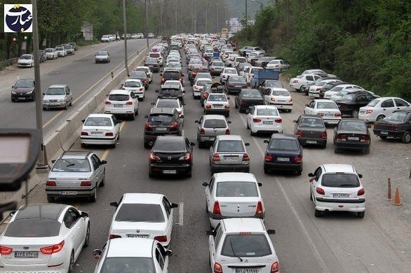 جاده + ترافیک + عبارت