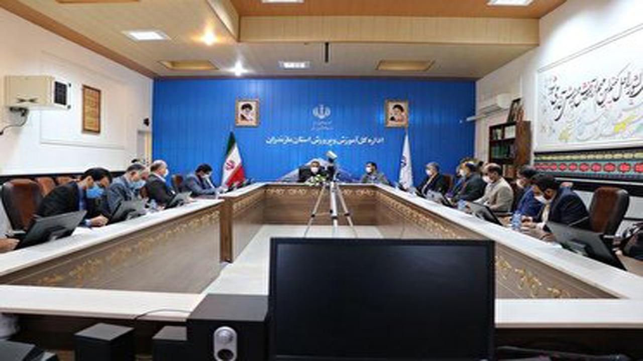 جلسه هم اندیشی  با مدیران آموزش و پرورش و صداوسیمای مرکز مازندران+عبارت