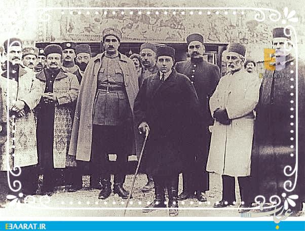 رضاخان و احمد شاه + عبارت