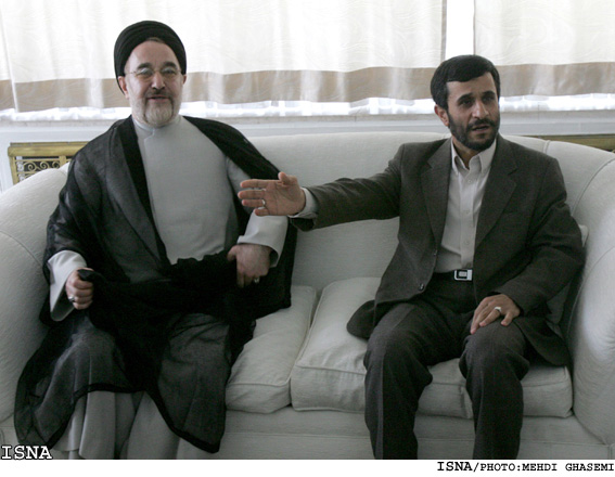 احمدی نژاد _خاتمی_ عبارت