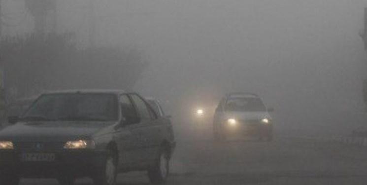 ترافیک مه آلود + عبارت