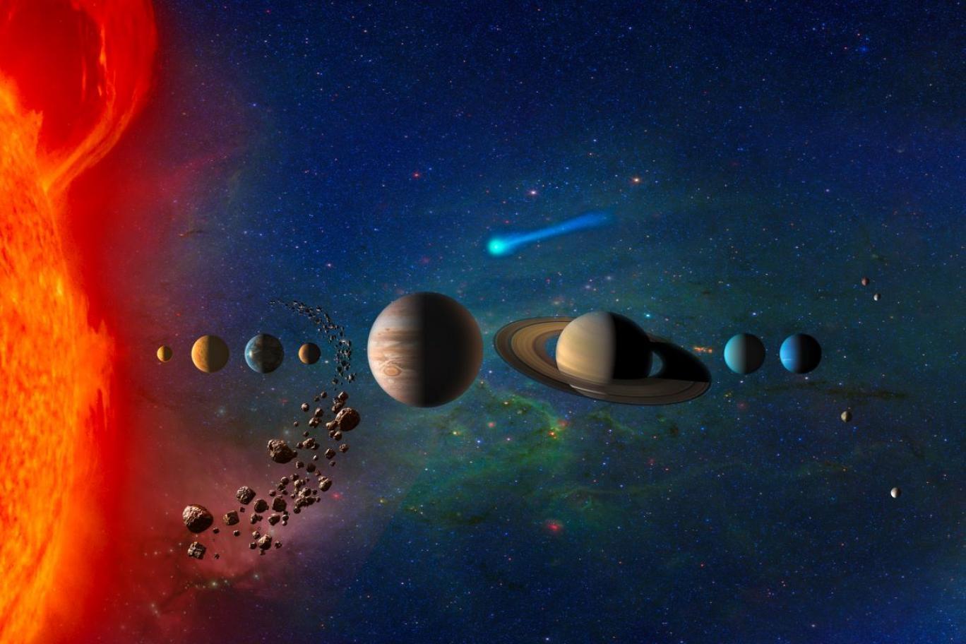منظومه شمسی+عبارت