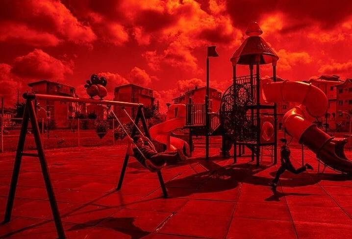 وضعیت قرمز کرونا+عبارت