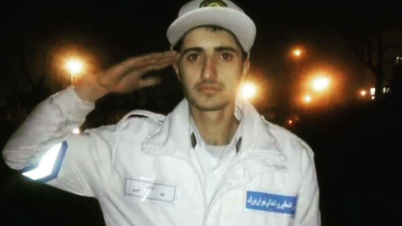 سرباز راهور+عابد اکبری+عبارت