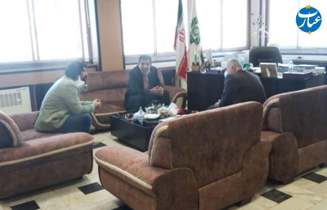 نشست مشترک عبدالرضا احمدی و بابایی کارنامی+عبارت