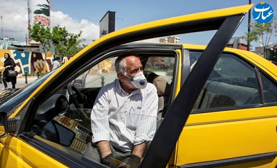 تاکسی  + کرونا + عبارت