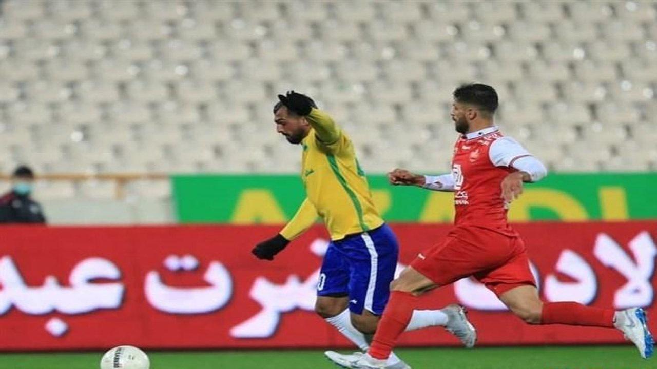 پرسپولیس+نفت آبادان+علی آل کثیر+عبارت