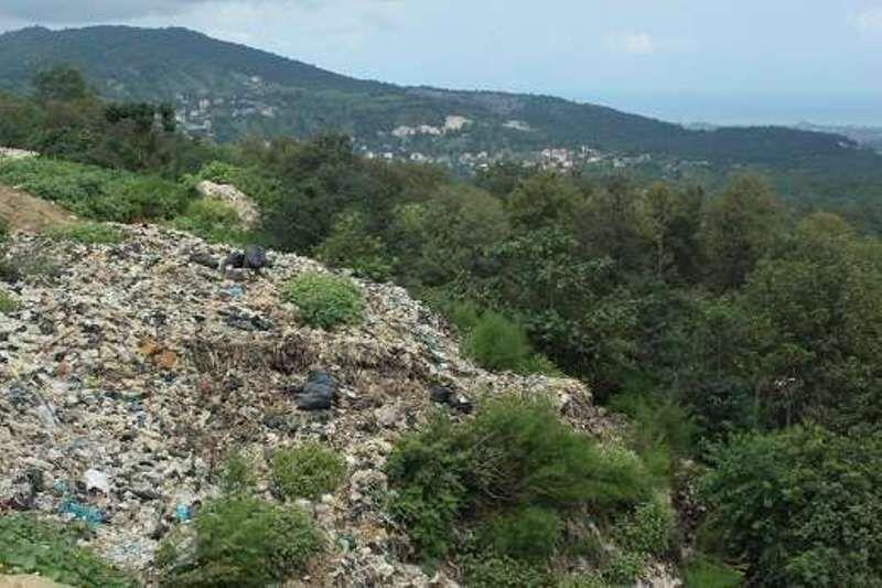 زباله و پسماند در جنگل و طبیعت+عبارت